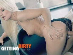 Jessie Volt in Getting Dirty - OfficeObsession