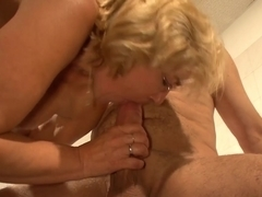 Crazy pornstar in Incredible Cumshots, Blonde sex scene