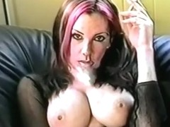 Horny homemade Big Tits, Smoking adult movie