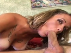 Fit hunk gets to fuck a curvy blonde MILF