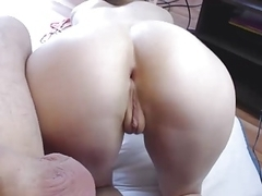 Girlfriend fucking and engulfing POV