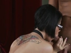 Loni Evans is fucking in her sweet glasses