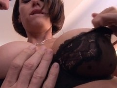 Crazy whore McKenzie Lee craves a dick in her tight pussy