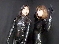 Japanese Latex Catsuit 42