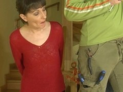 MaturesAndPantyhose Video: Linda and Adam