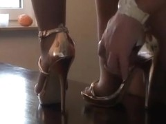 Video fetish feet pantyhose