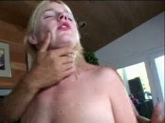 Blonde wench anal and slit plowing