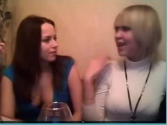 Two hot lesbians on webcam show