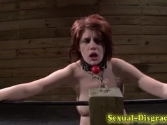 Throated restrained ### cummed on