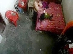 Hidden Web Camera Fixed  By Uncle - Screwed Youthful Angel