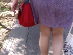 SDRUWS2 - MINI SKIRT AND PANTY LINES