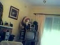 Non-Professional Webcam - Blonde Flashes And Strips