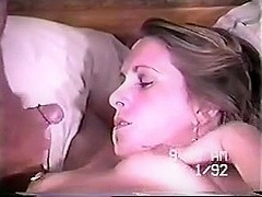 Huge facial for my lovely wife