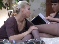 Pantyhose1 Clip: Madeleine and Virginia