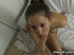 Shower Voyeur Caught And Fucked