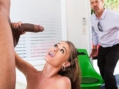 Kacy Lane in Bad Girl vs Big Black Cock - Movie