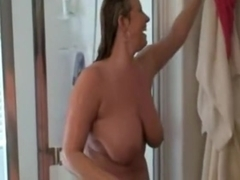 Breasty wife with dark paramour