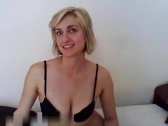 Real homemade couple fucking hard in bedroom