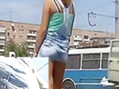 One of the hottest upskirts ever