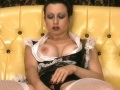 Trinity-Productions: Crotchless Maid