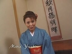 Japanese wife does her duty three