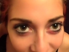 Deep throat,anal for green eyes hottie