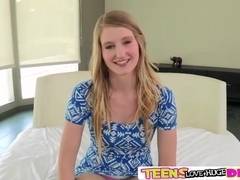 Horny tight teen Summer gets her self fucked the hardest