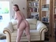 Watch me drilling a big-assed hussy's pussy in the living room