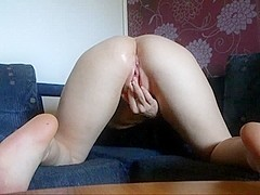 Lascivious neighbour wife tries anal