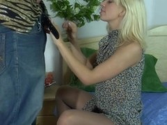 PantyhoseLine Clip: Connie A and Nicholas
