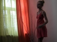 Megan in hot homemade video showing a cute in-love couple