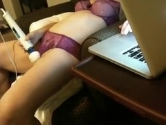 My wife getting off on livecam chat three-6