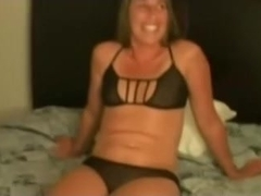 Wench White Wife Caught in 3Some Interracial Sex