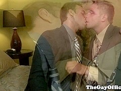 Gay office hunks cocksucking sixtynine