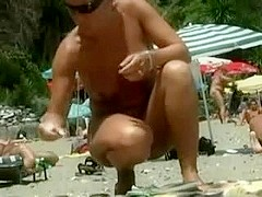 Beach Nudists Filmed On Spy Web Camera
