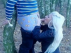 This is my sexy homemade blonde porn of a blowjob