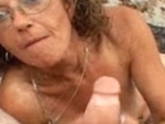 Candi the Mother I'd Like To Fuck receives Facial