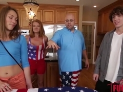 4Th Of July BBQ Turns Into Sibling Fuckfest