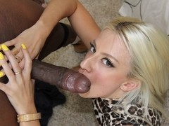Big Black Cock Meet a Petite