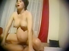 Hot fucking with my pregnant wife