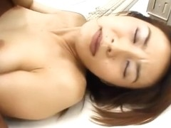 Runa Sawaguchi Asian chick has office sex