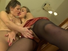 Pantyhose1 Clip: Gertie and Irene