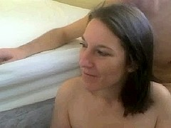 immodest camslut receives facial one greater quantity time