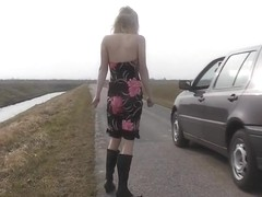 Blonde Teen Car Sex