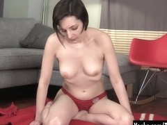 Hot Tegan Rubbing Her Pussy With Her Heal
