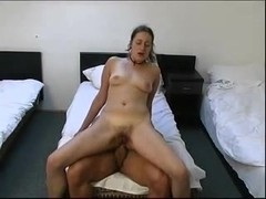 Hairy amateur anal sex