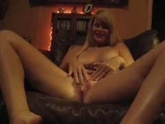 Wife plays for the camera