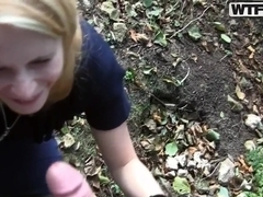 Sexy blonde Yani decided to fuck with a stranger in the park