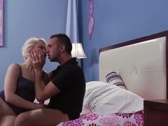 Keiran Lee gives rude spanking to Ash Hollywood