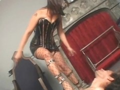 FemdomFootFetish Video: Bitchy Footdom Abuses Her footboy